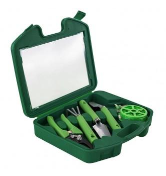 Портативный набор садовых инструментов 5 в 1 под нанесение логотипа