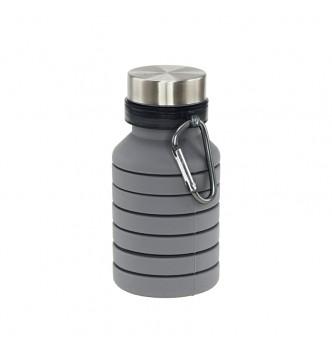 Бутылка для воды PAGODA, силиконовая, 550 мл, под нанесение логотипа