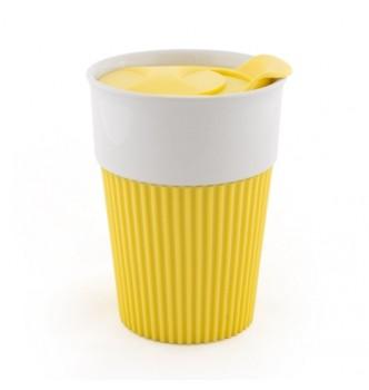 Керамическая чашка AFINA 400 мл под нанесение логотипа