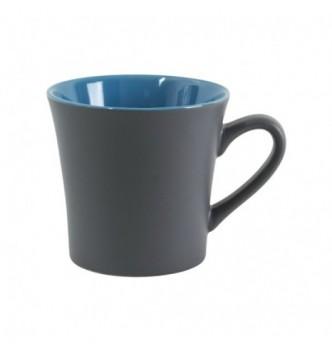 Чашка керамическая MARCELA матовая и глянцевая внутри, 360 мл с Вашим логотипом