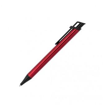 Ручка IDA с черным клипом и металлическим корпусом для гравировки логотипа