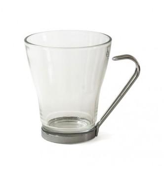 Чашка стеклянная прозрачная VENERA, объем 250 мл, под нанесение изображения