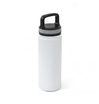 Термофляга металлическая матовая ALENTO 500 мл с пластиковой крышкой