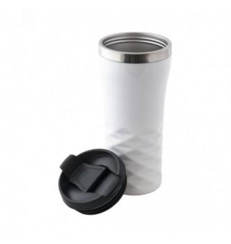 Термочашка металлическая ALBERO с пластиковым корпусом, 350 мл