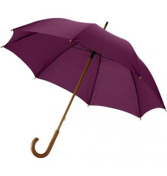 Зонт-трость JOVA с деревянной ручкой и тростью и металлическими спицами под нанесение Вашего логотипа