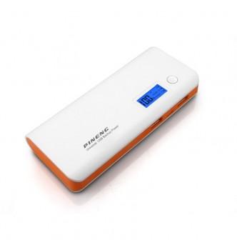 Внешний аккумулятор Power Bank Pineng PN-968 10000 mAh под нанесение Вашего логотипа