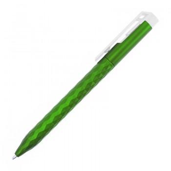 Ручка пластиковая, шариковая Metallic-3555 под нанесение вашего лого