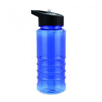 Бутылка для воды, носик- трубочка, 550 мл, под нанесение логотипа
