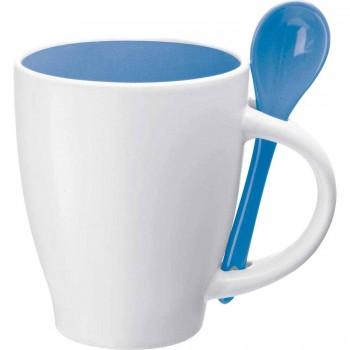 Фарфоровая кружка (чашка) с вашим лого