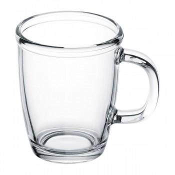 Чашка стеклянная прозрачная для нанесение изображения