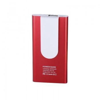 Power bank - внешний аккумулятор 3000 мА/ч, 1A