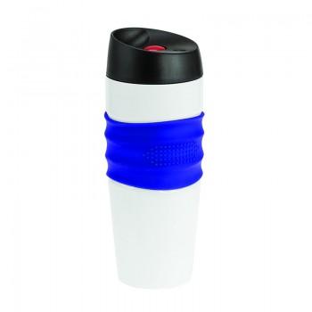 Термокружка Friend, нержавеющая сталь, клапан-кнопка,400 мл, BPA Free