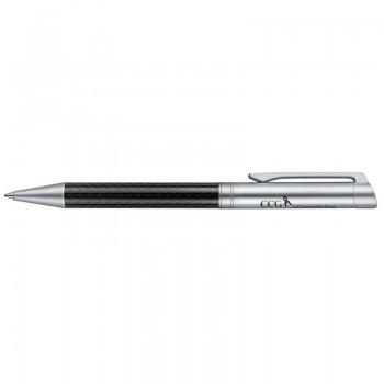 Ручка шариковая Carbon Line металл, поворотный механизм, Senator, под нанесение Вашего лого