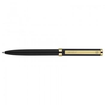 Ручка шариковая Delgado Classic корпус металлический, лакированный, черный, клип золотой Senator, под нанесение Вашего лого