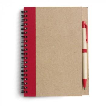 Блокнот + ручка под нанесение Вашего лого