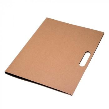 Папка, из переработанных материалов, под нанесение Вашего лого