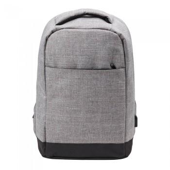 Рюкзак антивор с ПВХ-основой под нанесение логотипа