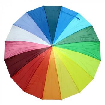 """Зонт-трость """"Радуга"""" под нанесение логотипа"""