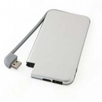 Зарядное устройство EVENTUS на 6000 mAh с индикатором уровня заряда под нанесение логотипа