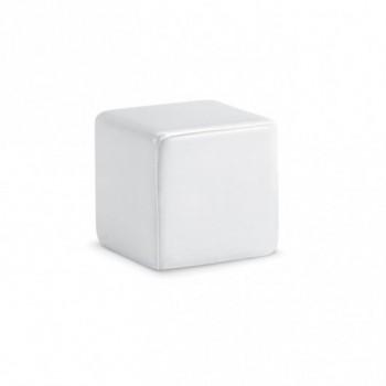 Антистресс кубик SQUARAX с чистой стороной для нанесения логотипа