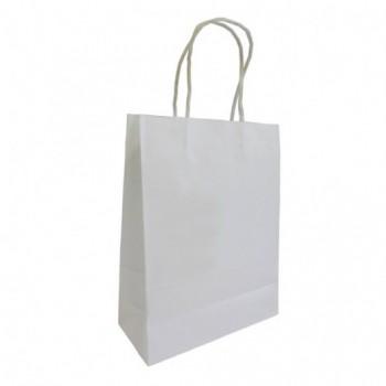 Пакет бумажный с витыми ручками, размер 180*80*250 мм