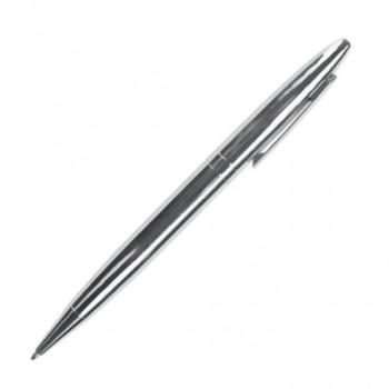 Ручка металлическая шариковая DELLA с поворотным механизмом