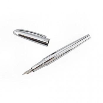 Ручка металлическая перьевая OSF505 с колпачком под нанесение изображения