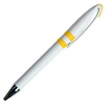 Ручка шариковая пластиковая RINA с цветными кольцами