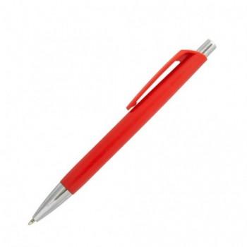 Ручка шариковая пластиковая LEKSA с цветным корпусом и клипом, с возможностью нанесения Вашего логотипа