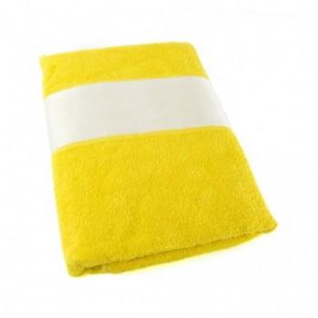 Полотенце с белым бордюром под сублимацию, 70х140 см