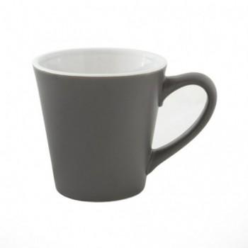 Чашка керамическая MIATA матовая с внешней стороны и глянцевая изнутри, 288 мл