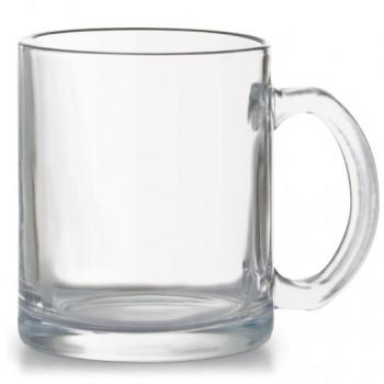Чашка стеклянная прозрачная AMELIA, объем 340 мл, под нанесение изображения