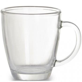 Чашка стеклянная прозрачная CIRCEYA, объем 350 мл, под нанесение изображення