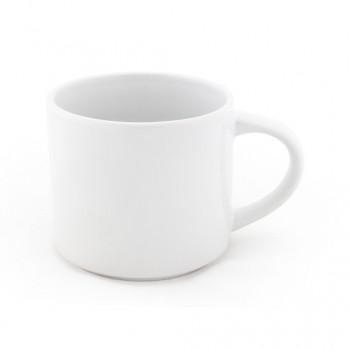 Чашка керамическая KATRINA 450 мл глянцевая с внешней стороны и изнутри