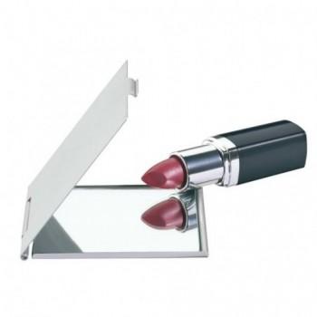 Зеркало карманное DONNA складное алюминивое под нанесение лого или другого зображення методом гравировки